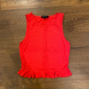 Red Forever 21 Tank Top